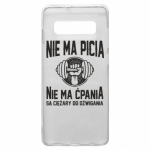 Samsung S10+ Case No drinking no drugs