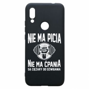 Xiaomi Redmi 7 Case No drinking no drugs