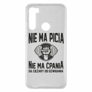 Xiaomi Redmi Note 8 Case No drinking no drugs