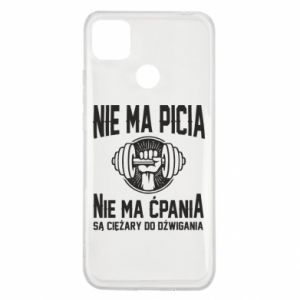 Xiaomi Redmi 9c Case No drinking no drugs
