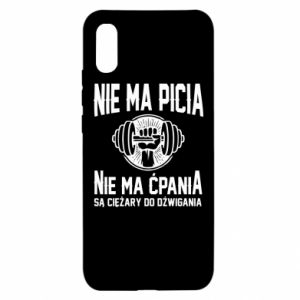 Xiaomi Redmi 9a Case No drinking no drugs