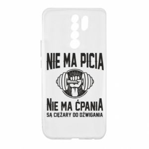 Xiaomi Redmi 9 Case No drinking no drugs