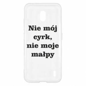 Etui na Nokia 2.2 Nie mój cyrk, nie moje małpy
