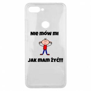 Etui na Xiaomi Mi8 Lite Nie mów mi jak mam żyć