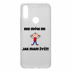 Etui na Xiaomi Redmi 7 Nie mów mi jak mam żyć
