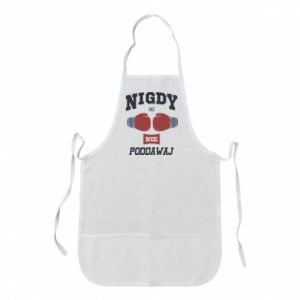 Apron Not to succumb