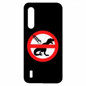Etui na Xiaomi Mi9 Lite Nie rzucać petardami w dinozaury