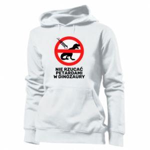 Bluza damska Nie rzucać petardami w dinozaury