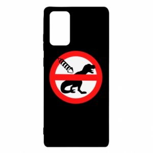 Etui na Samsung Note 20 Nie rzucać petardami w dinozaury