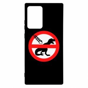 Etui na Samsung Note 20 Ultra Nie rzucać petardami w dinozaury