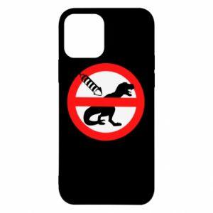 Etui na iPhone 12/12 Pro Nie rzucać petardami w dinozaury