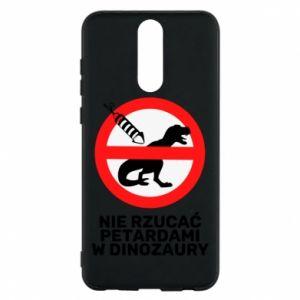 Etui na Huawei Mate 10 Lite Nie rzucać petardami w dinozaury