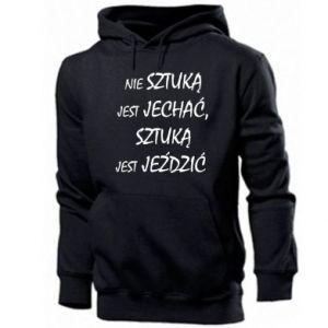 Men's hoodie It is not an art to go... - PrintSalon