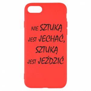 Etui na iPhone SE 2020 Nie sztuką jest jechać...