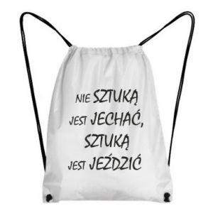 Backpack-bag It is not an art to go... - PrintSalon