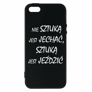 Phone case for iPhone 5/5S/SE It is not an art to go... - PrintSalon