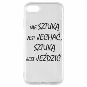 Phone case for iPhone 8 It is not an art to go... - PrintSalon