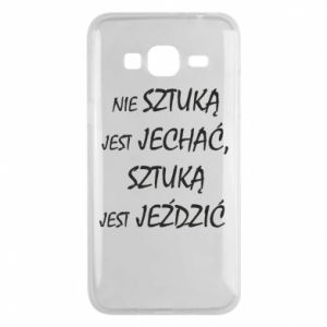 Phone case for Samsung J3 2016 It is not an art to go... - PrintSalon