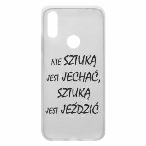 Phone case for Xiaomi Redmi 7 It is not an art to go... - PrintSalon