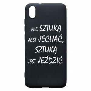 Phone case for Xiaomi Redmi 7A It is not an art to go... - PrintSalon