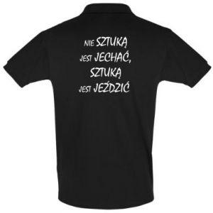 Men's Polo shirt It is not an art to go... - PrintSalon