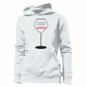 Damska bluza Nie zawsze piję, no chyba że to wino