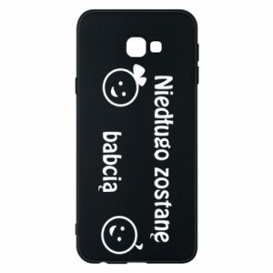 Phone case for Samsung J4 Plus 2018 I will be grandmother for a long time
