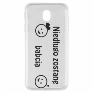 Samsung J7 2017 Case I will be grandmother for a long time