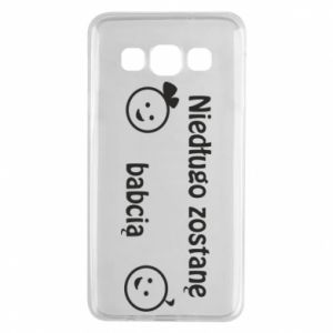 Samsung A3 2015 Case I will be grandmother for a long time