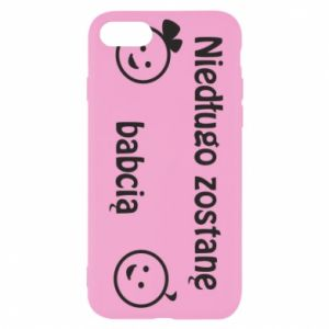 iPhone SE 2020 Case I will be grandmother for a long time