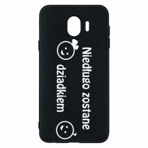 Phone case for Samsung J4 I will be grandpa soon