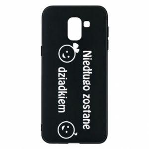 Phone case for Samsung J6 I will be grandpa soon