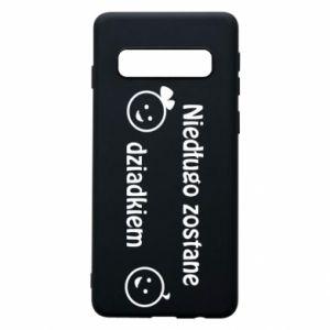 Samsung S10 Case I will be grandpa soon