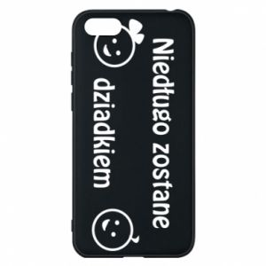 Phone case for Huawei Y5 2018 I will be grandpa soon