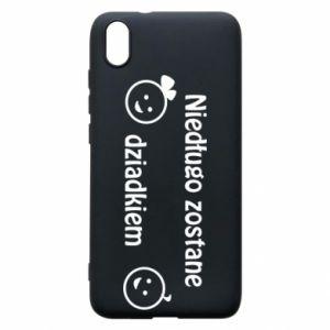 Phone case for Xiaomi Redmi 7A I will be grandpa soon