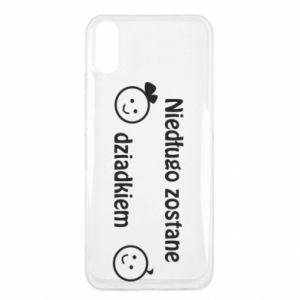 Xiaomi Redmi 9a Case I will be grandpa soon