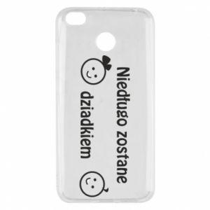 Xiaomi Redmi 4X Case I will be grandpa soon