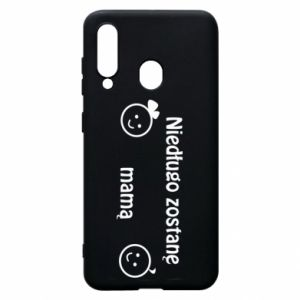 Phone case for Samsung A60 I will be mother soon