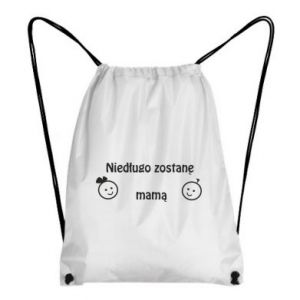 Backpack-bag I will be mother soon