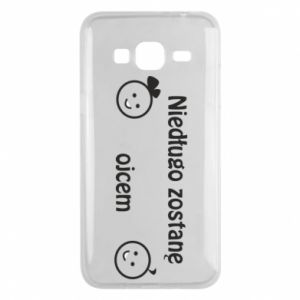 Phone case for Samsung J3 2016 I will be a father for a long time