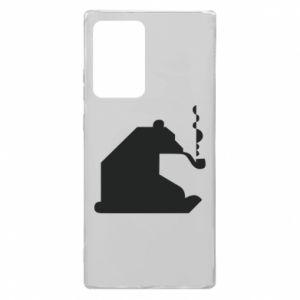 Etui na Samsung Note 20 Ultra Niedźwiedź z fajką