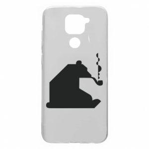 Etui na Xiaomi Redmi Note 9/Redmi 10X Niedźwiedź z fajką