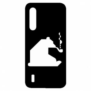Etui na Xiaomi Mi9 Lite Niedźwiedź z fajką