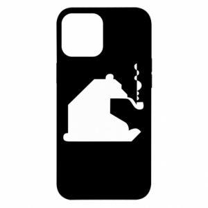 Etui na iPhone 12 Pro Max Niedźwiedź z fajką
