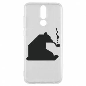 Etui na Huawei Mate 10 Lite Niedźwiedź z fajką