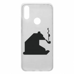 Etui na Xiaomi Redmi 7 Niedźwiedź z fajką
