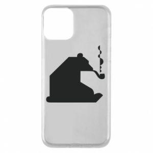Etui na iPhone 11 Niedźwiedź z fajką