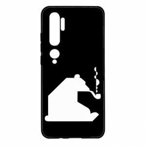 Etui na Xiaomi Mi Note 10 Niedźwiedź z fajką