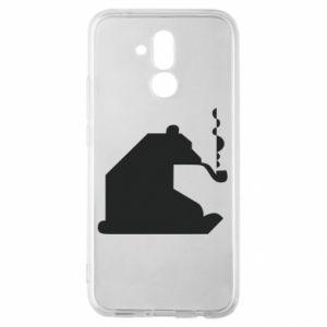 Etui na Huawei Mate 20 Lite Niedźwiedź z fajką