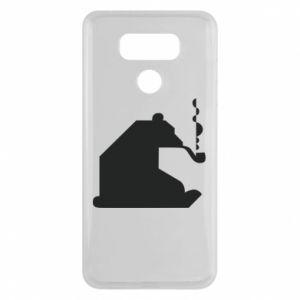 Etui na LG G6 Niedźwiedź z fajką